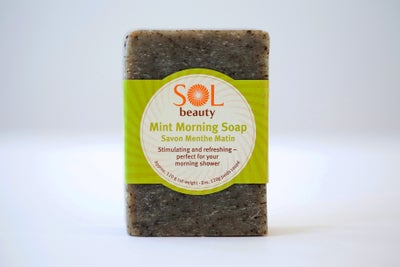Mint Morning Soap - Sol  Beauty