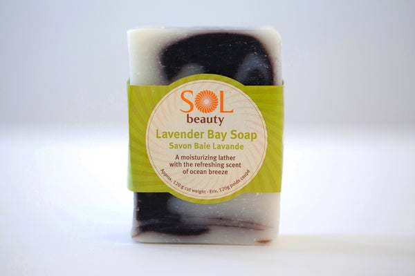 Lavender Bay Soap - Sol  Beauty