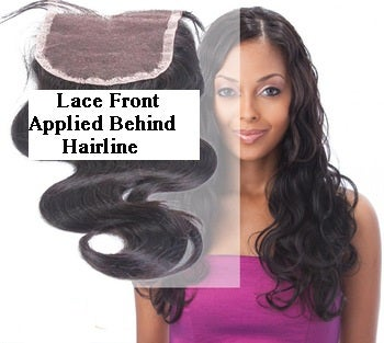 Image of Lace Front Closure - Brazilian Body Wave