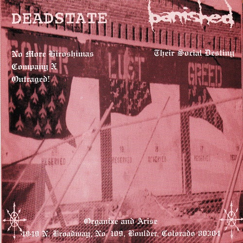 DEADSTATE / BANISHED split 7""