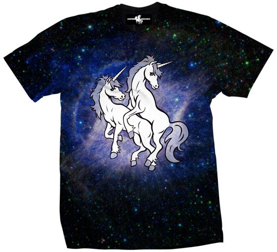 Image of Unified Unicorn: Blue Galaxy