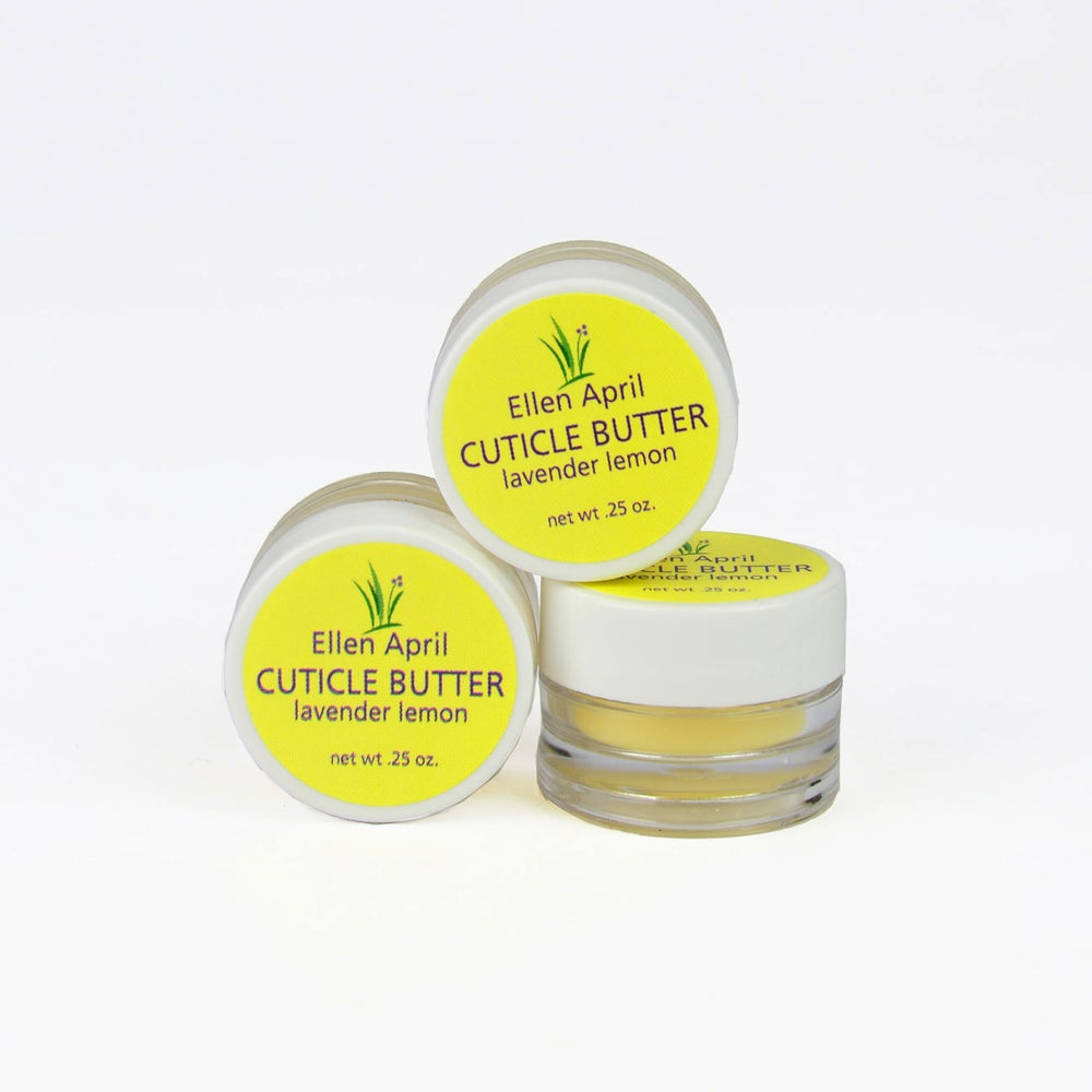 Image of Lavender Lemon Cuticle Butter