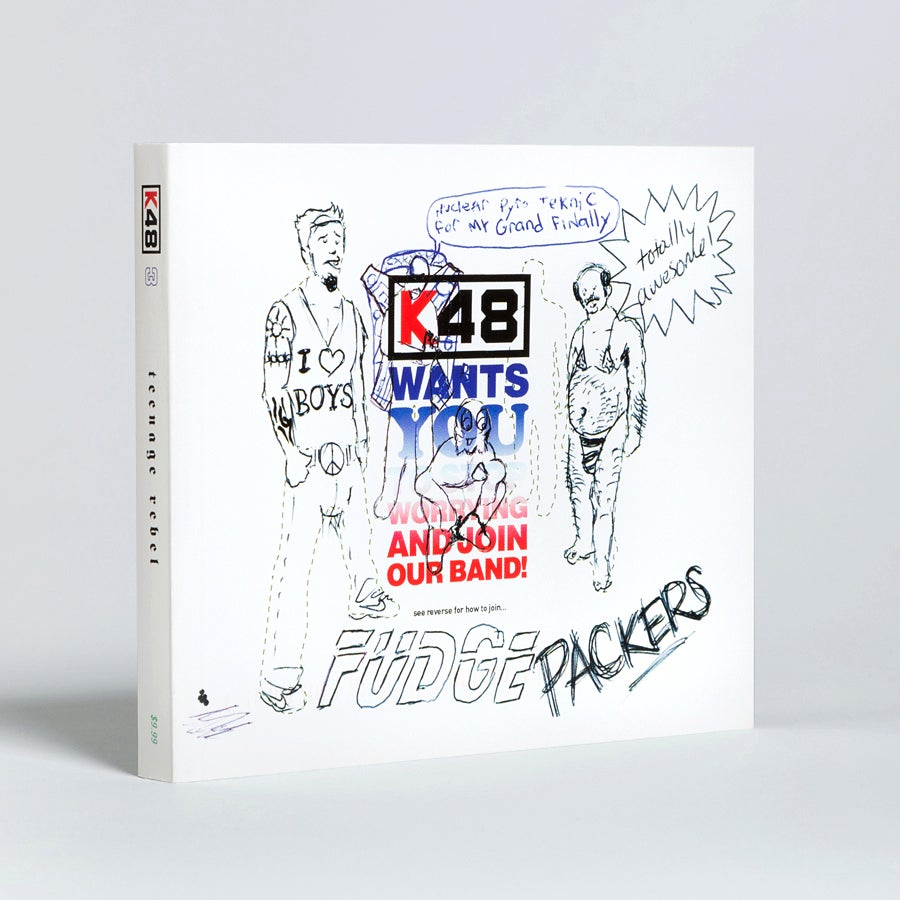 Image of K48 issue No. 3: TEENAGE REBEL