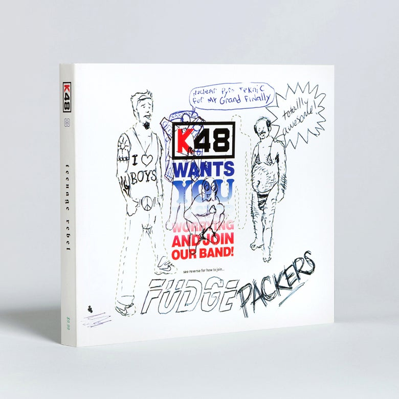 Image of K48 issue No. 3: TEENAGE REBEL