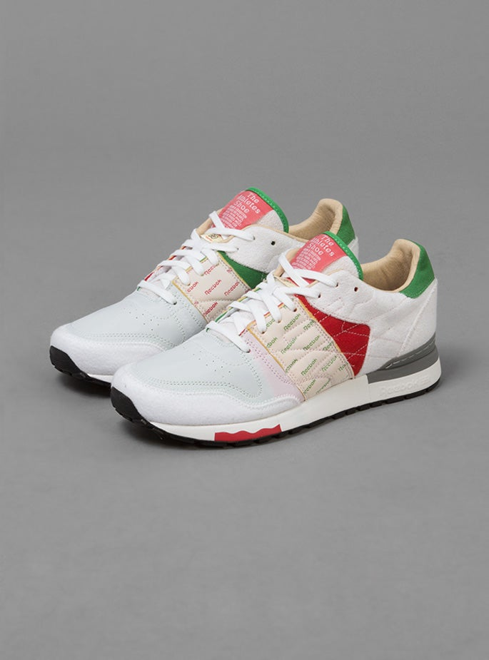 Image of Reebok X Garbstore CL6000 Red/Green