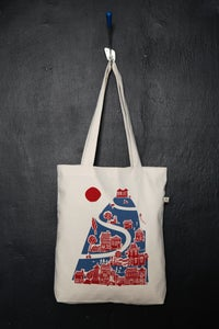 "Image of ""Acropolis Hill"" shopper tote bag"