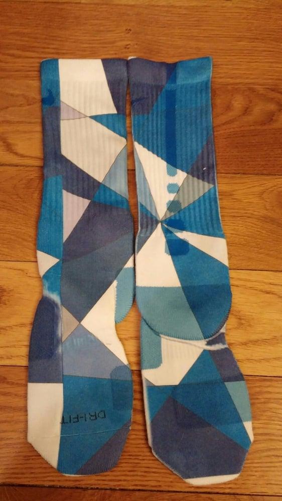 57789ac42a9a Image of Blue Prism Custom Nike Elite Socks Mens L(8-12)