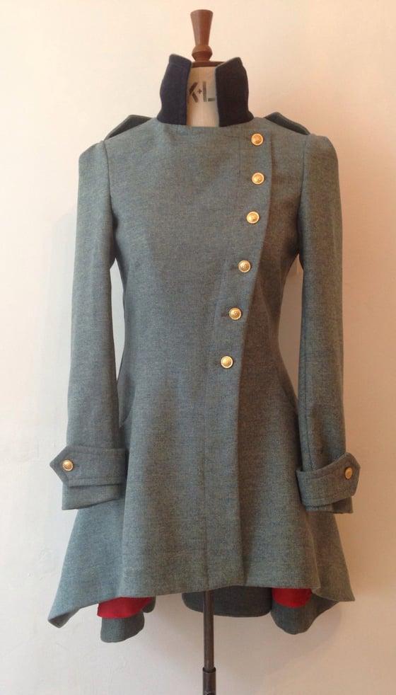 Image of Tweed Commander Coat
