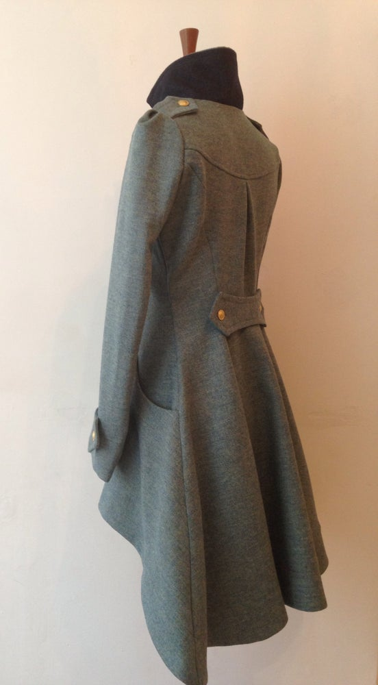 Image of Tweed Commander Coat