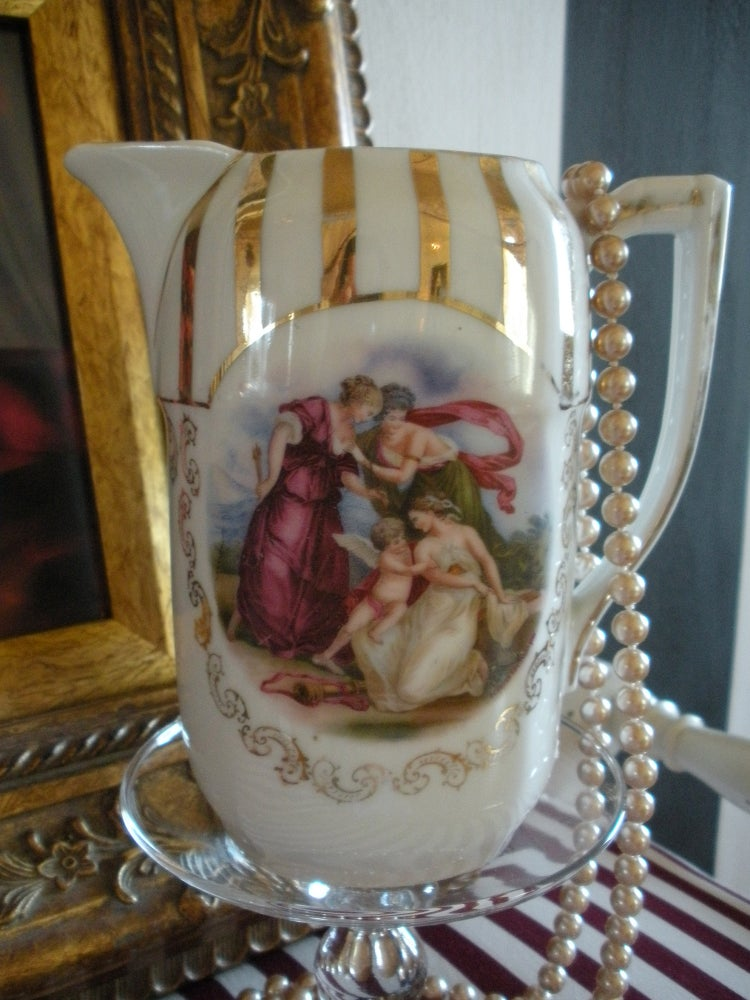 Image of Antique Chocolat Pot