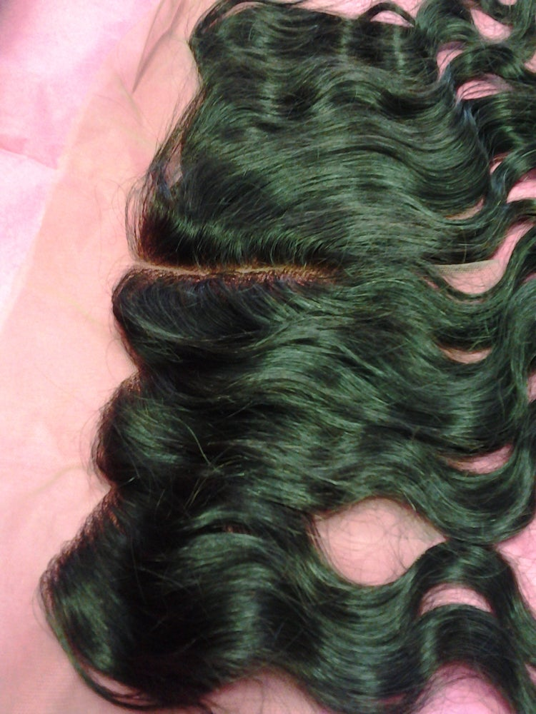 Image of Virgin Human Hair Lace Frontal 18""