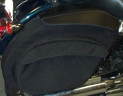 Image of LeatherPro© FXDXT Retro T-Sport Saddlebags