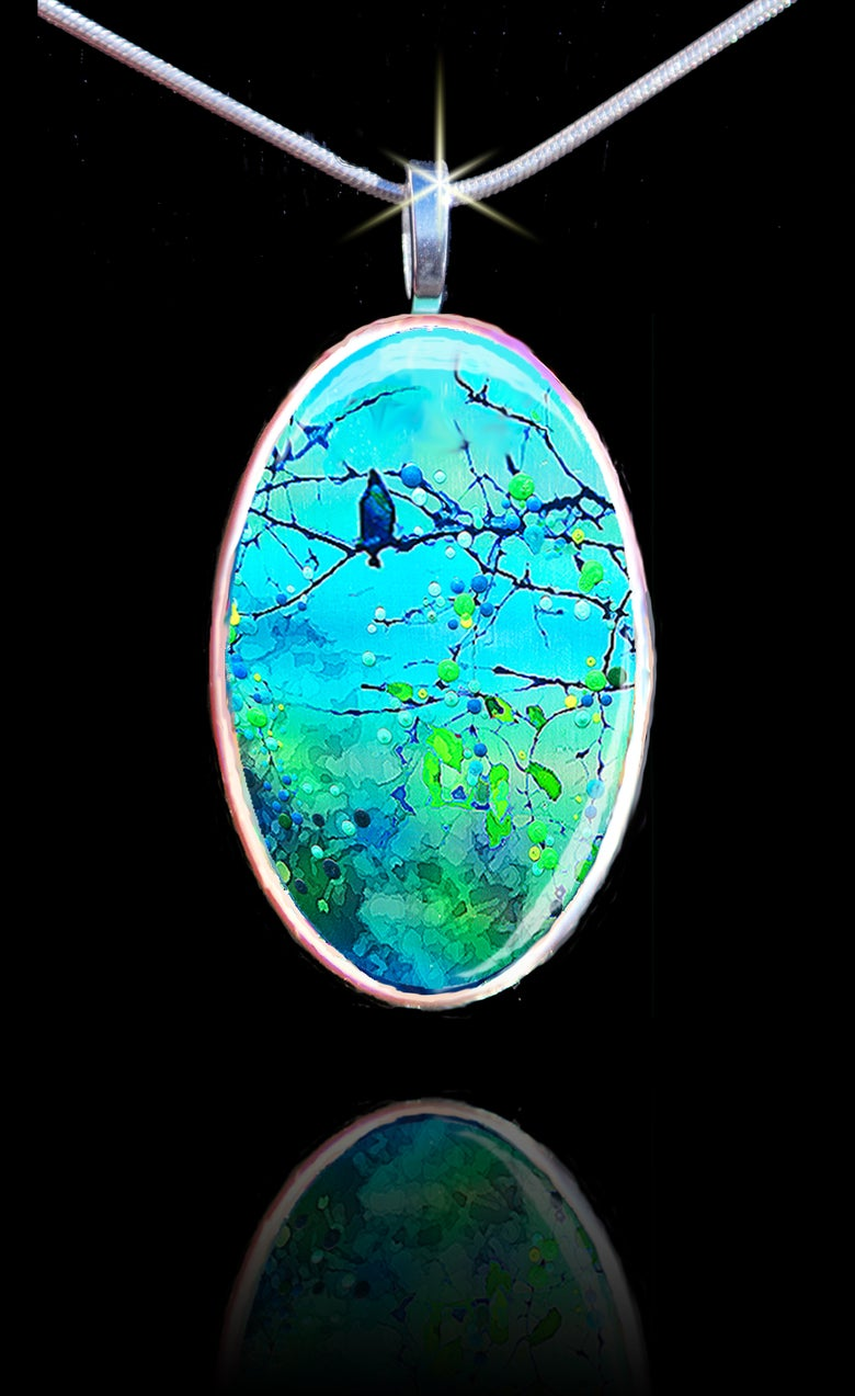 "Image of Bluebird Morning Song ""New Beginnings"" Pendants"