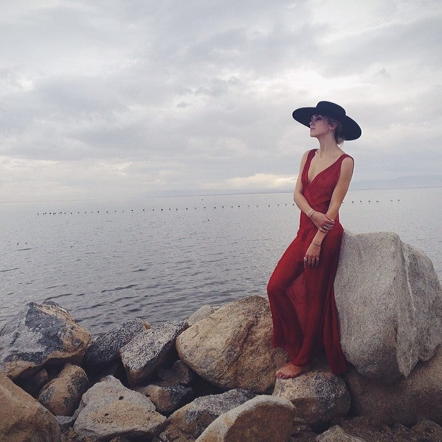 Image of Wool Brim Fedora Hat - 002