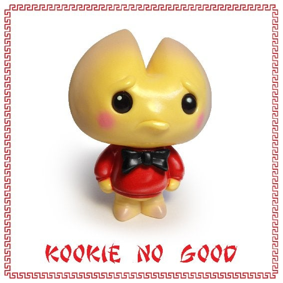 Image of Kookie No Good sofubi figure - 2014 Retail Edition - Scott Tolleson
