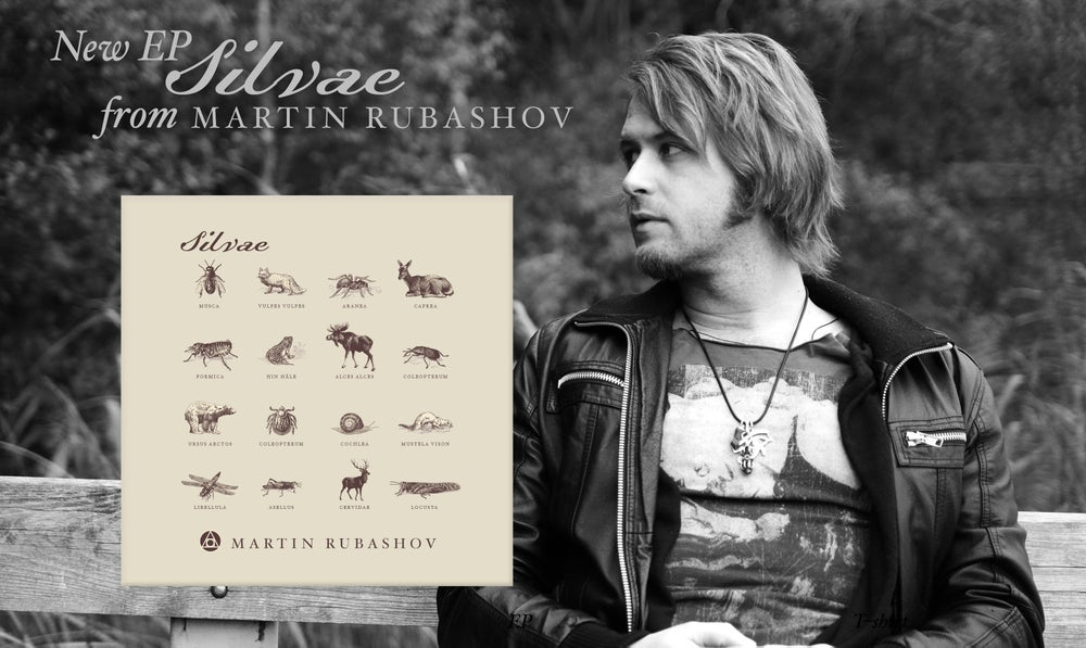 Image of Martin Rubashov - Silvae (EP CD)