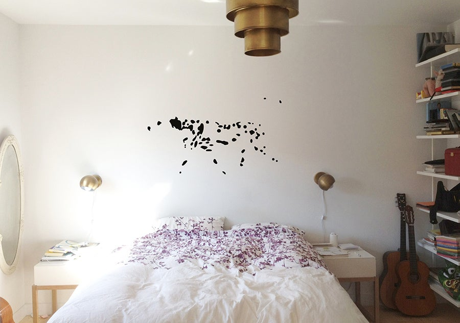 Image of Dalmatian Wall Sticker
