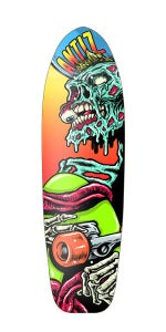 Image of Antiz skateboard deck - Team Cruiser