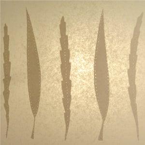 Image of No.12 Drum Pendant Long Leaf