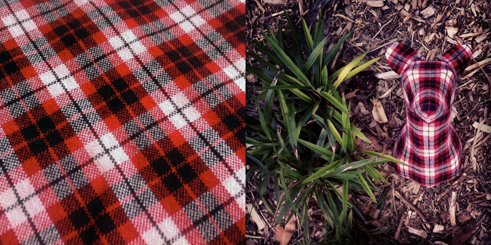 Image of 'Red' Flannel Fox - Small