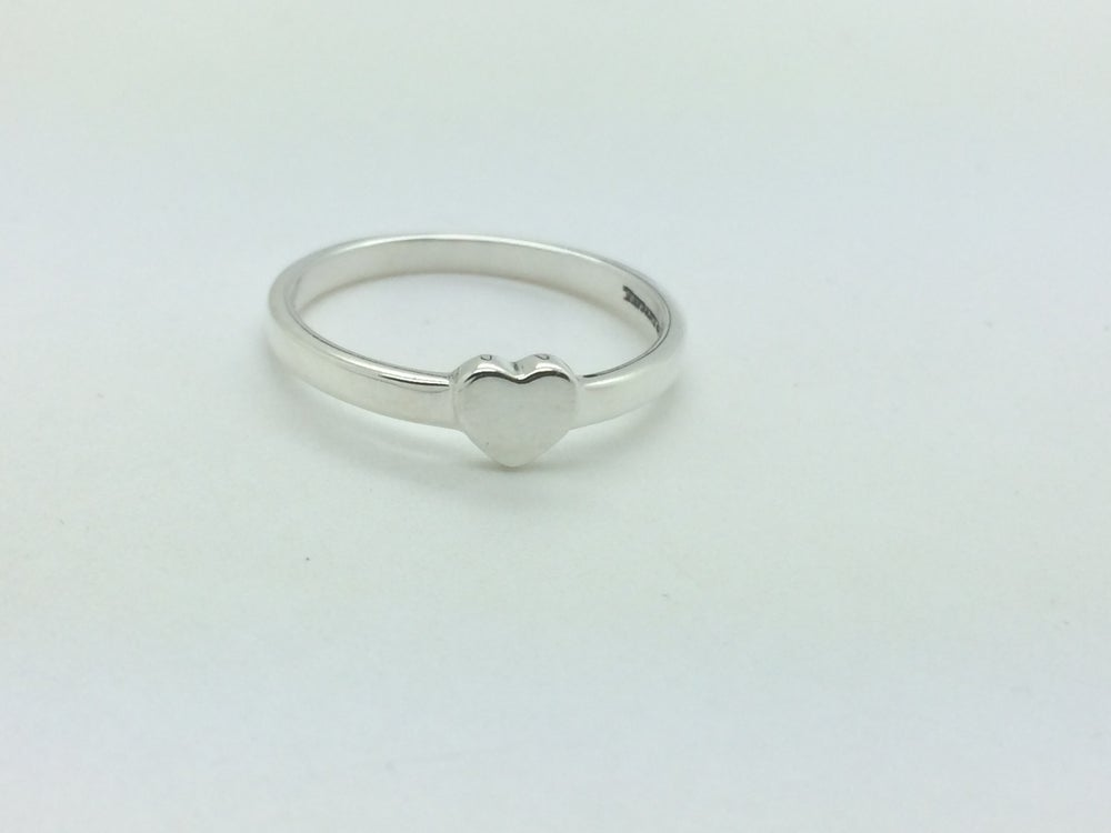 Image of Ladies Pre-Owned Paloma Picasso Heart Tiffany & Co Ring