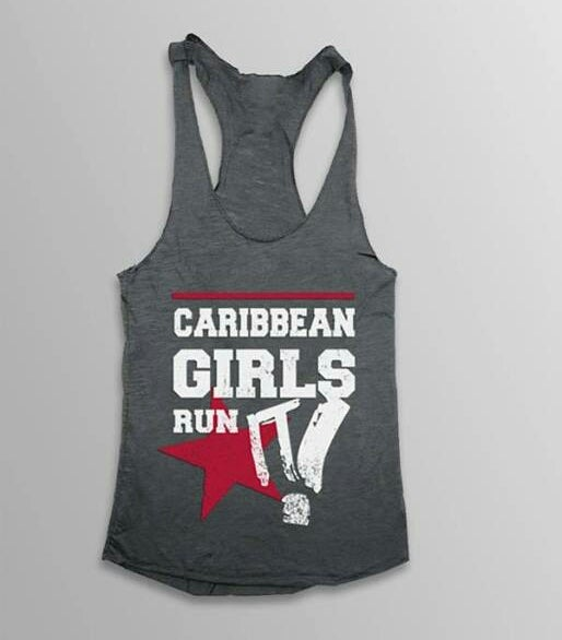 Image of CARIBBEAN GIRLS RUN IT    RACER BACK