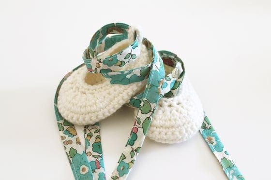 Image of Baby Ballerina Slippers