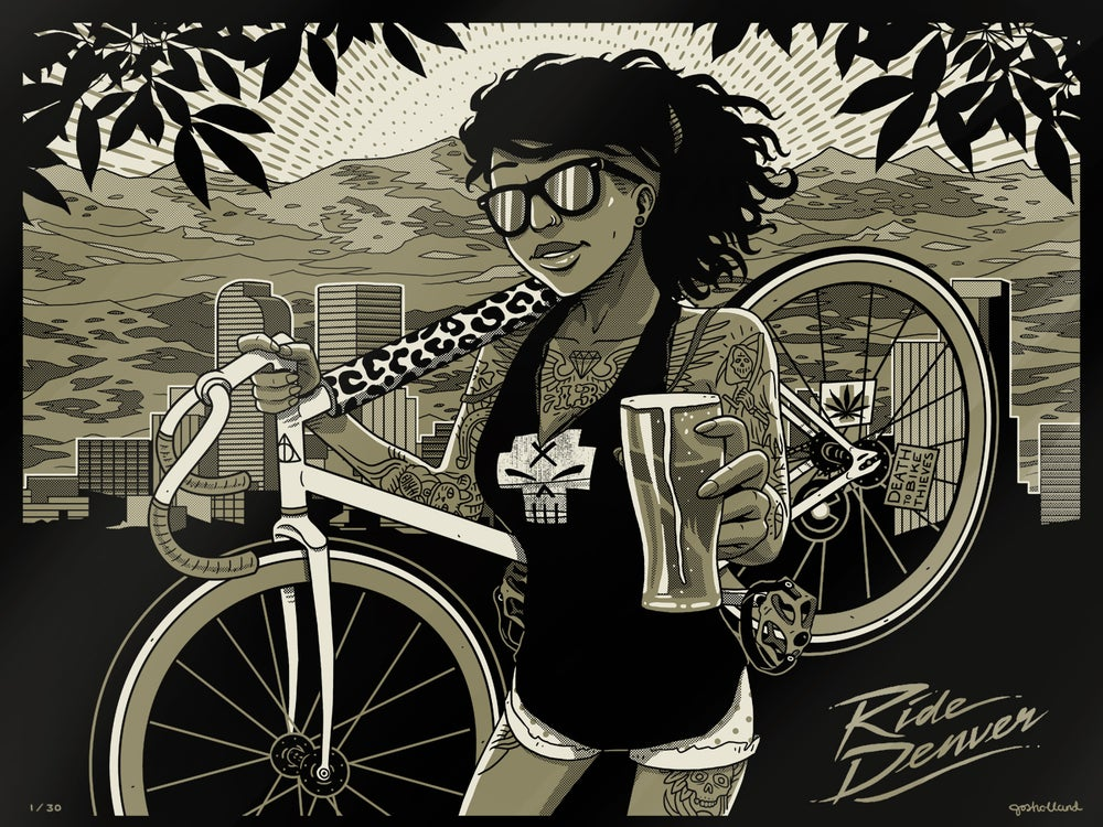 "Image of ""RIDE DENVER"" PRINT"