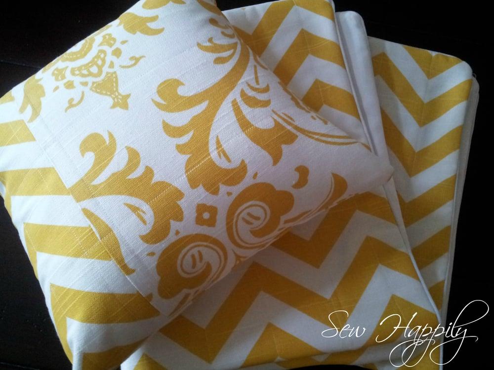 Image of Custom Throw Pillow