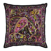 Image of The Wanderer Cushion (Citrine / Magenta)