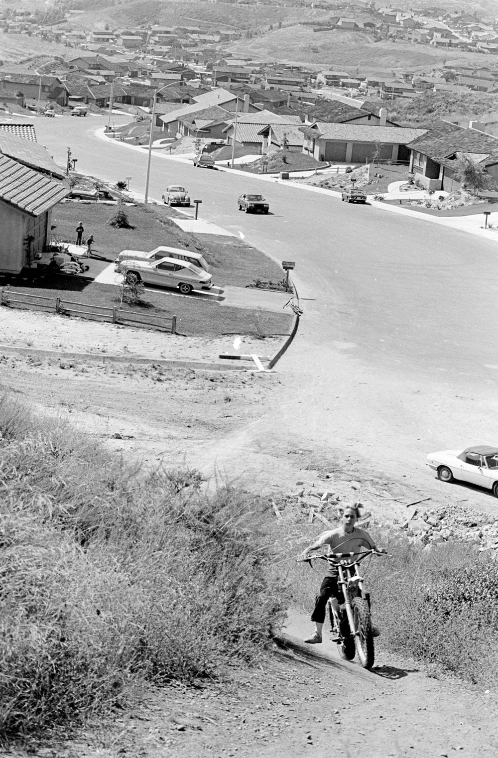 Image of Dirt Bike Riding In San Diego; Late '70s