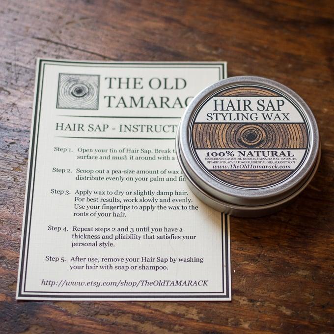 Image of HAIR SAP - Natural Hair Styling Wax