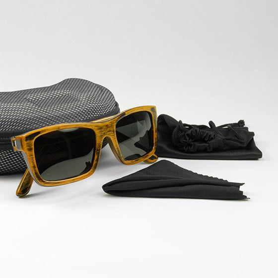 Image of Singe Bamboo Sunglasses