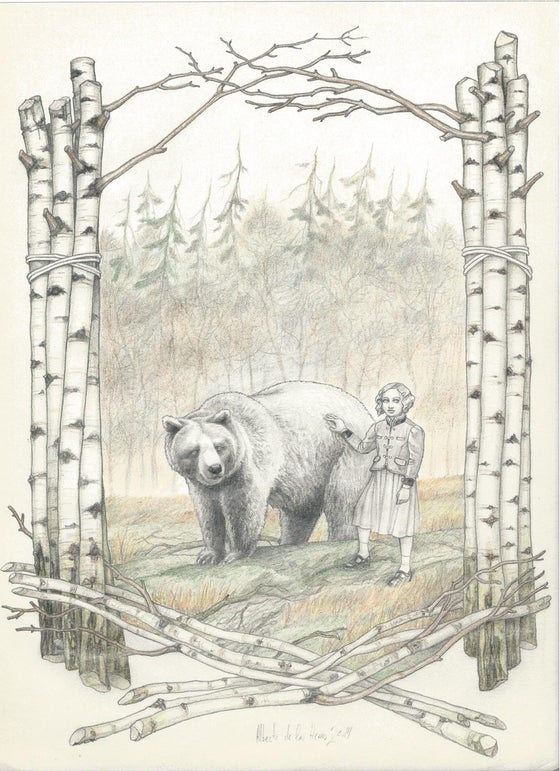Image of ANIMAL serie Mrs.Bear