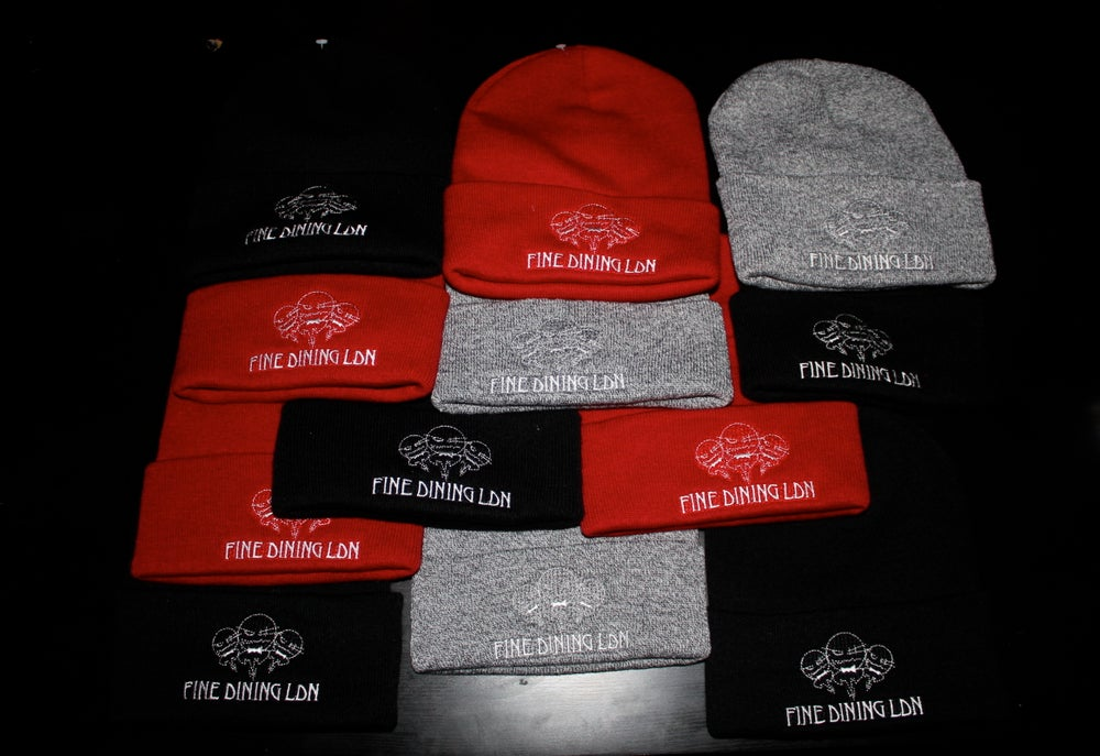 Image of Fine Dining Beanie Hat
