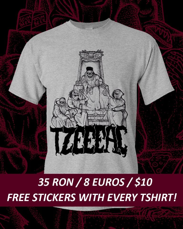 "Image of TZEEEAC ""SCREAM BLOODY CORE"" T-Shirt"