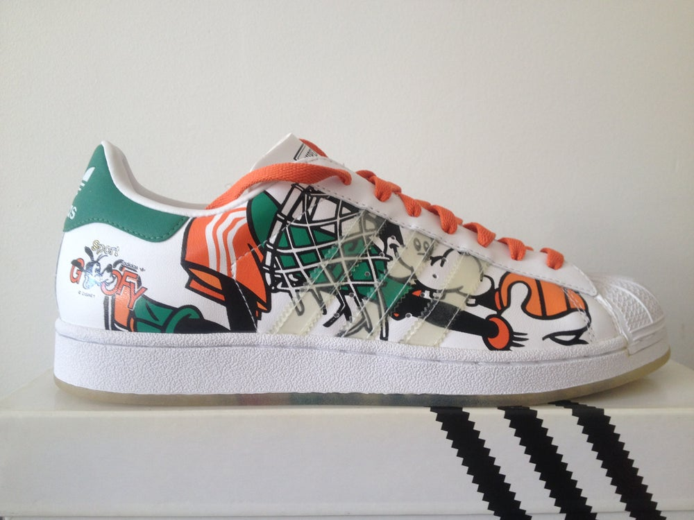Image of Adidas Superstar Disney Goofy Expression #12 2004 ...