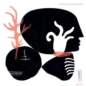 Image of BRITO/ GRINDING HALT split LP