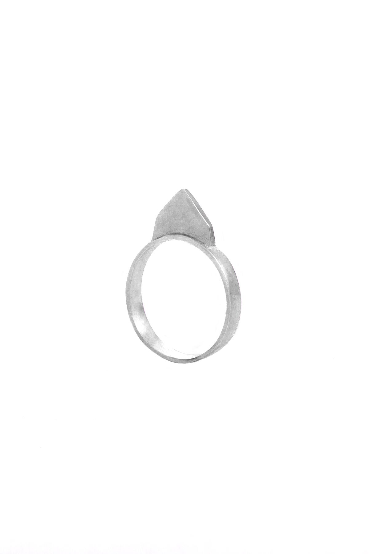 Image of BRUISER RING - SILVER