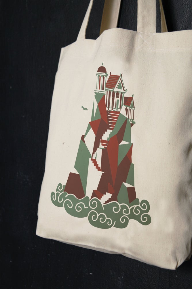 "Image of ""Home Of The Gods"" shopper tote bag"