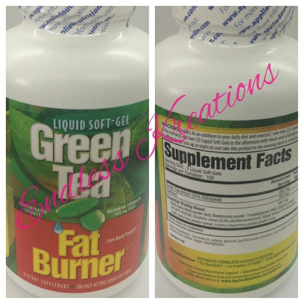 Image of Green Tea Fat Burner
