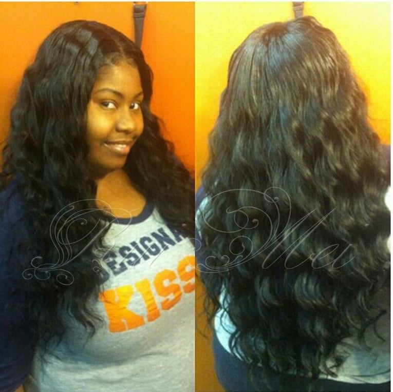 Ms Cat Hair Malaysia Virgin Body Wave 4pc Lot 8 28inch Natural