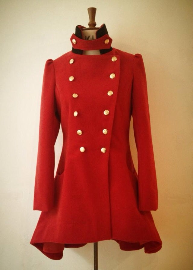 Image of Marching band frock coat