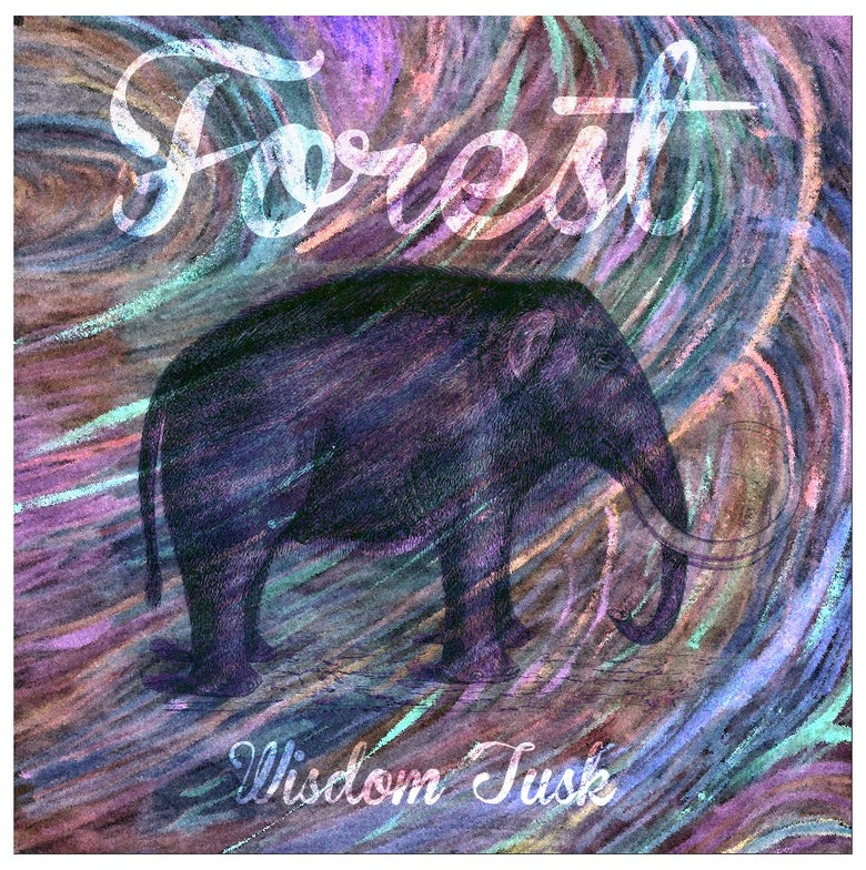 "Image of FOREST WISDOM TUSK EP 10"" GREEN VINYL"