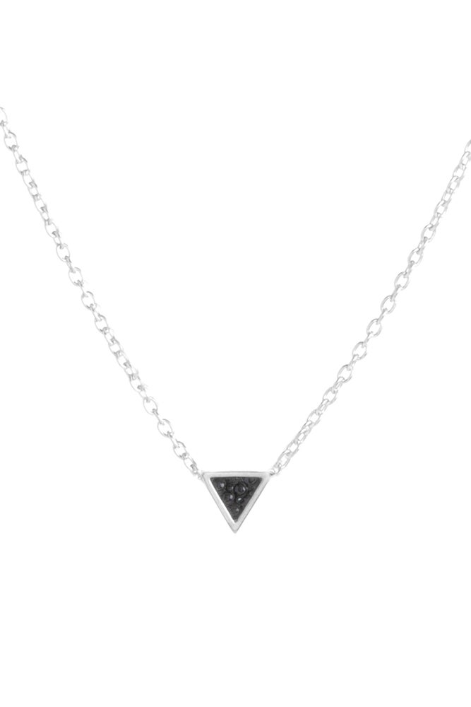 Image of TINY TRILLION NECKLACE - SILVER
