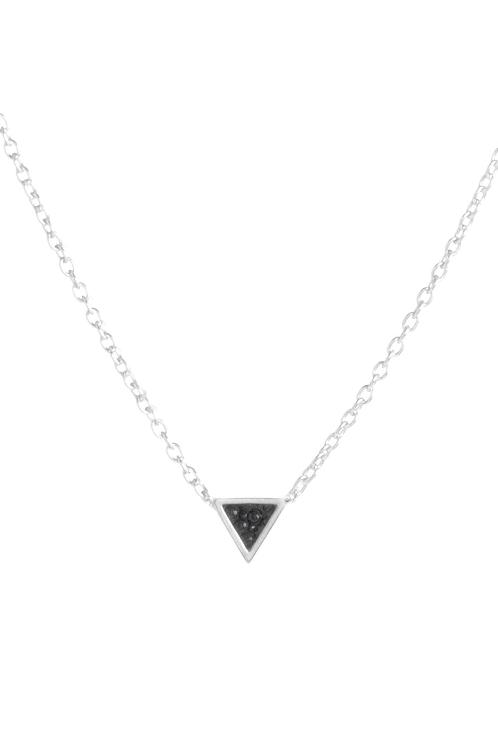 TINY TRILLION NECKLACE - SILVER