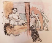 Image of Girl reading at window - Jane Eyre Series