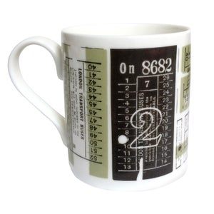 Image of Hold Tight Bone China Mug - British Lichen