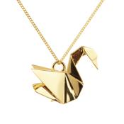 Collier cygne -  Origami Jewellery