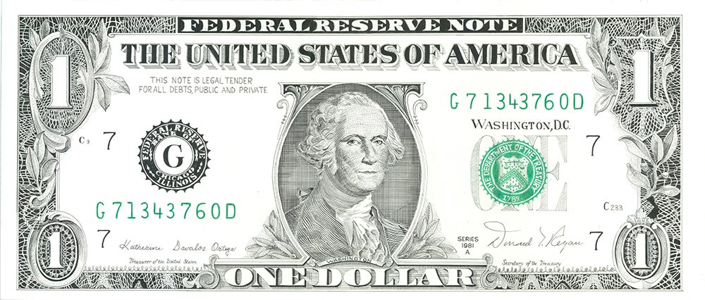 "Image of ""The Dollar"" - Original Artwork"